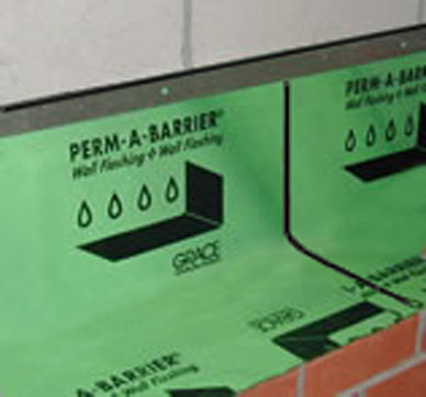 Through The Roof Sealant Perm-A-Barrier® Wall Flashing | Powerhouse Building Solutions